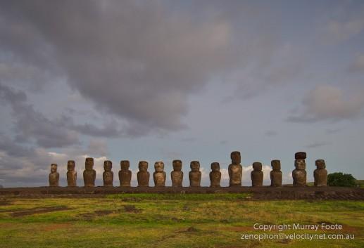 Ahu Tongariki, Easter Island, Isla de Pascua, Rapa Nui and tagged Ahu, Ahu Tongariki, Archaeology, Easter Island, Isla de Pascua, Moai, Photography, Rapa Nui, Travel