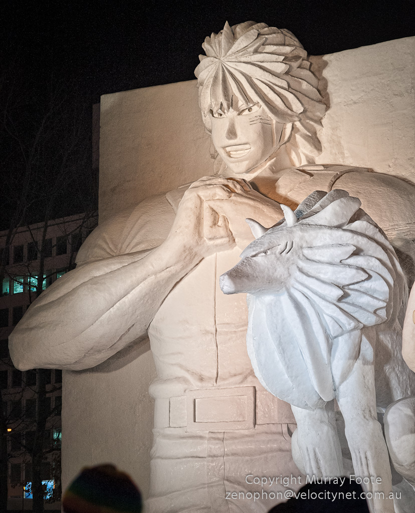 10th February: Sapporo Snow Festival By Night « Murray Foote