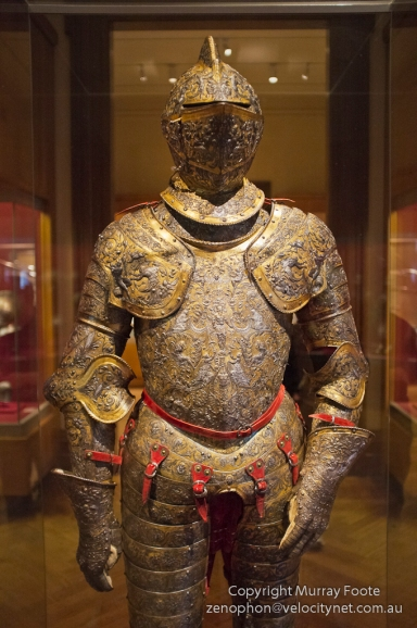 Parade armour of Henri II of Frrance, from about 1555
