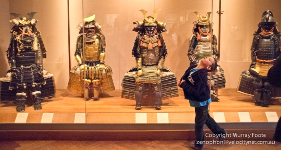 Japanese samurai armour, 14th to 15th centuries.