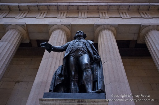 George Washington, Wall St