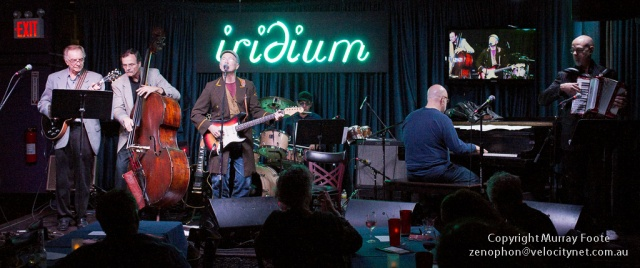 Marshall Crenshaw & the Les Paul Trio at the Iridium
