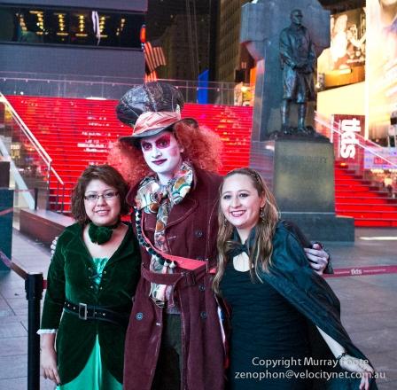 Times Square, Halloween night