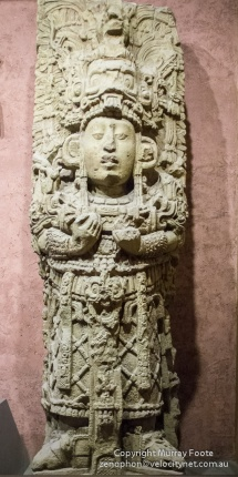 Mayan sculpture, American Museum of Natural History