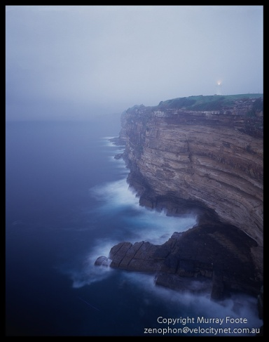 Macquarie-Lighthouse-in-Fog