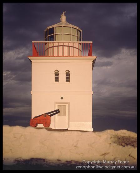 Cape Borda Lighthouse and Cannon Mamiya 645