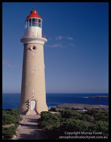 Cape du Couedic lighthouse Mamiya 645
