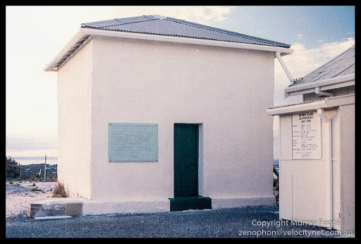 Base of Original Rottnest Island Lighthouse (Low res scan from book)