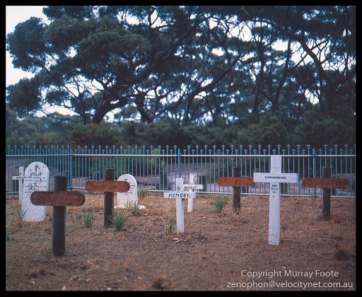 Cape Borda Cemetery Mamiya 645 (Low-res scan from book)
