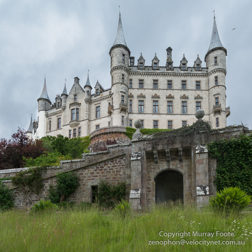 Scottish Castle Floor Plans Dunrobin Castle 171 Murray Foote