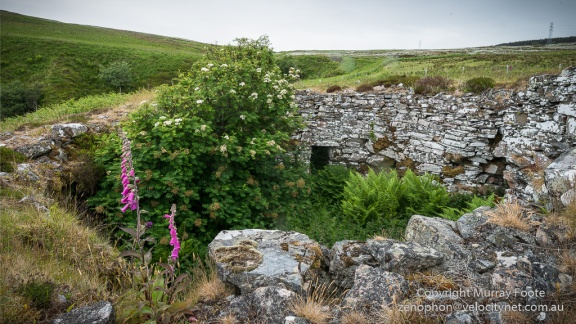 Ousdale Broch from the back wall