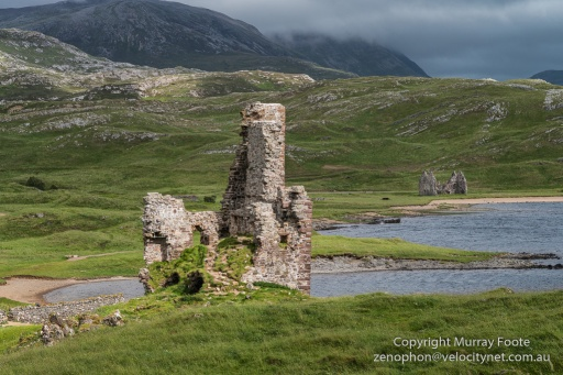 Ardvreck Castle and Calda House