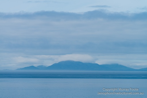 View of Harris across the Minch