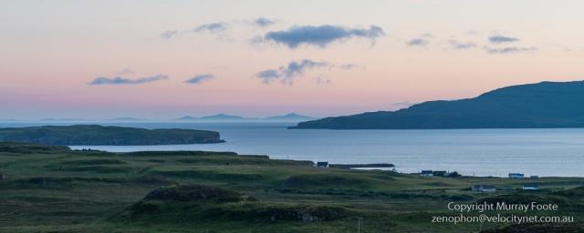 Loch Bracadale from Dun Beag