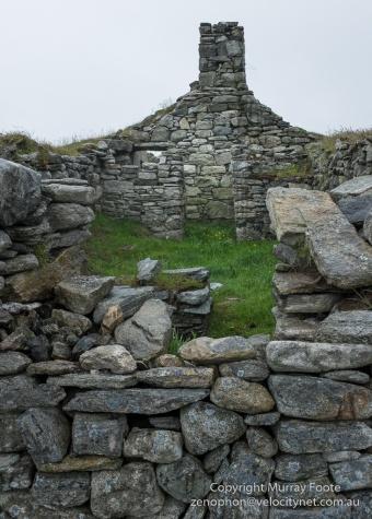Remote abandoned farmhouse