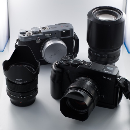 Fujifilm cameras and lenses