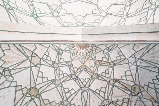 Ceiling, Naubat Khana (Red Fort)