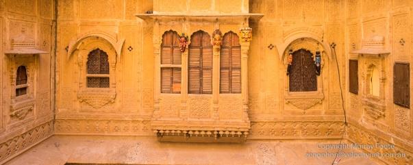 Upper floor (internal) above Haveli courtyard