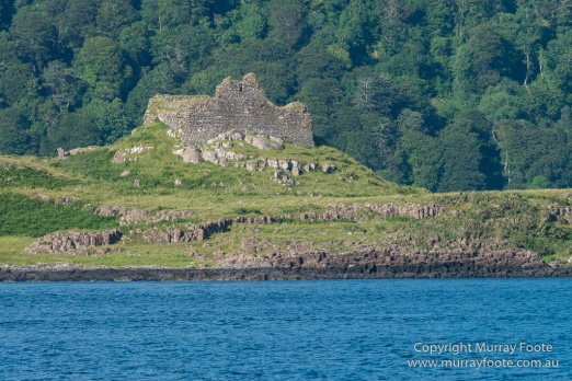 Ardtornish Castle, Castles, Hebrides, Lighthouses, Nature, Photography, Scotland, seascape, Travel.