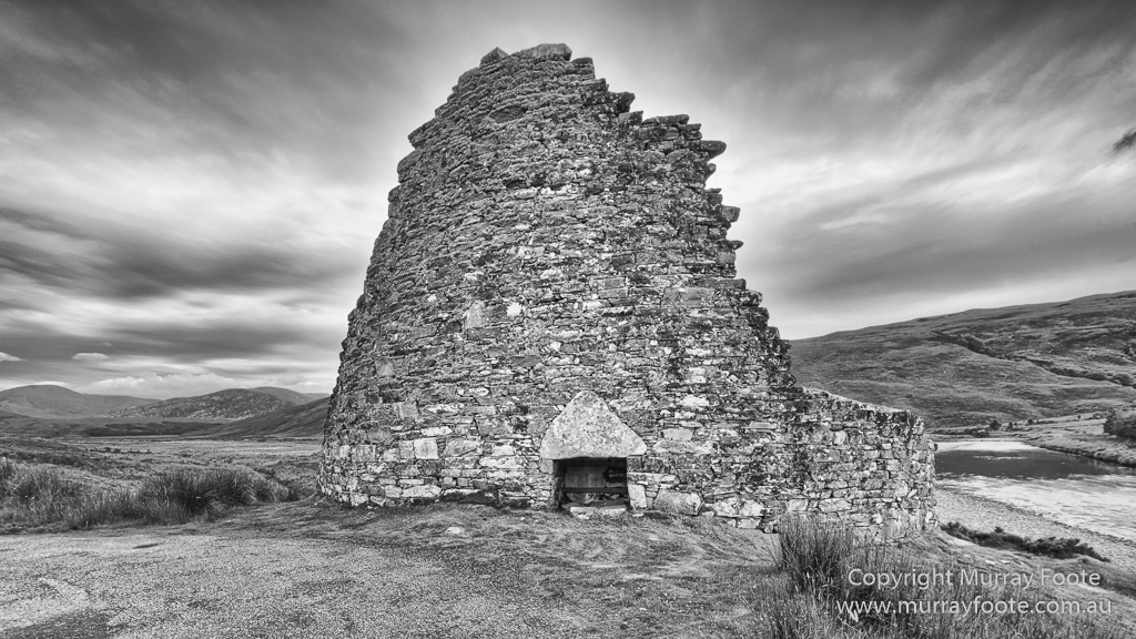 Black and white brochs castles history landscape lighthouses monochrome