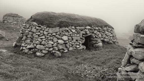 photography, travel, archaeology, history, landscape, architecture, scotland, st-kilda, Hebrides, Monochrome, Black and White, Infrared