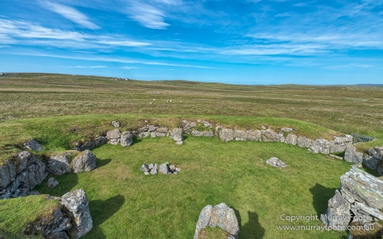 Aamos Kirk, Archaeology, Architecture, Clunies Ross House, Culswick, Gruting, History, Landscape, Photography, Scotland, Shetland, Stanydale Temple, Travel