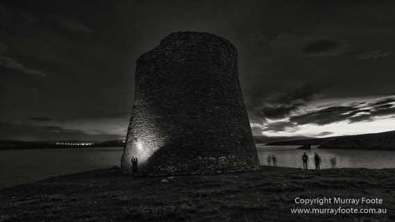 Archaeology, Architecture, Black and White, Castles, History, Landscape, Monochrome, Photography, Scotland, Shetland, Travel