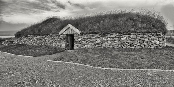 Archaeology, Architecture, Black and White, Castles, History, Landscape, Monochrome, Photography, Scotland, Shetland, Travel. Edit