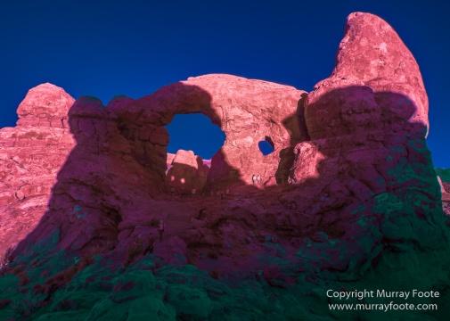 Arches National Park, Delicate Arch, Infrared, Landscape, Masa Arch, Park Avenue, Photography, Southwest Canyonlands, The Windows, Travel, USA, Utah