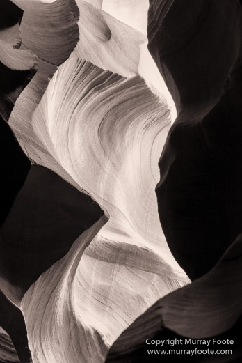 Antelope Canyon, Arizona, Black and White, Landscape, Monochrome, Photography, Southwest Canyonlands, Travel, USA