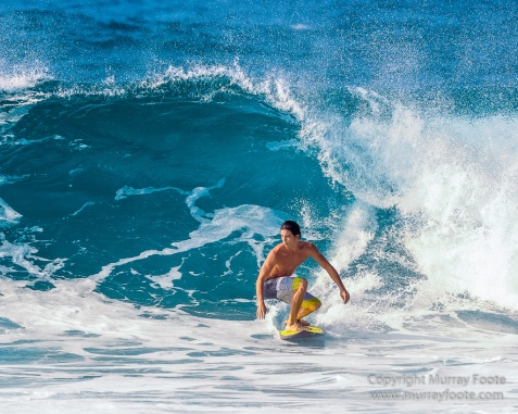 Hawaii, Oahu, Photography, Rocky Point, seascape, Surfing, Travel