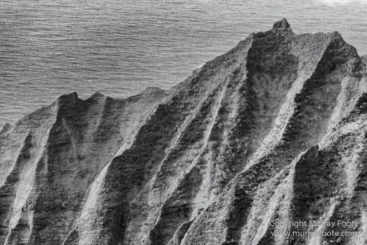 Black and White, Hawaii, Helicopter, Infrared, Kauai, Ke'e Beach, Landscape, Maha'ulepu Heritage Trail, Monochrome, Na Pali Coast, Photography, Travel, Waimea Canyon