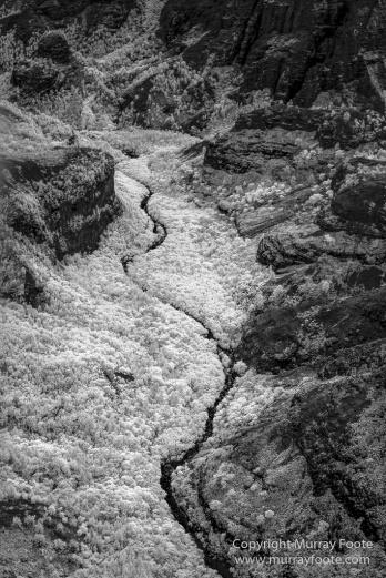 Black and White, Hawaii, Helicopter, Infrared, Kauai, Ke'e Beach, Landscape, Maha'ulepu Heritage Trail, Monochrome, Na Pali Coast, Photography, Travel, Waimea Canyon
