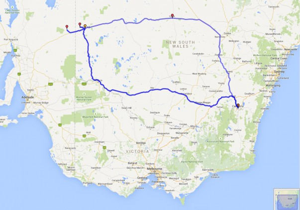 Boolcoomatta Journey Map