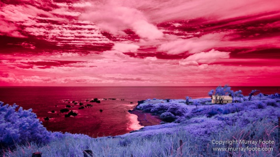 Hawaii, Hui Aloha Church, Infrared, Kaupo, Landscape, Maui, Mokulau, Photography, Puka'auhuhu, seascape, Travel
