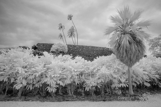 Black and White, Hawaii, Hui Aloha Church, Infrared, Kahanu Gardens, Kipahulu, Landscape, Maui, Monochrome, Photography, Pi'inihale Heiau, seascape, Travel, Waianapanapa Black Sand Beach