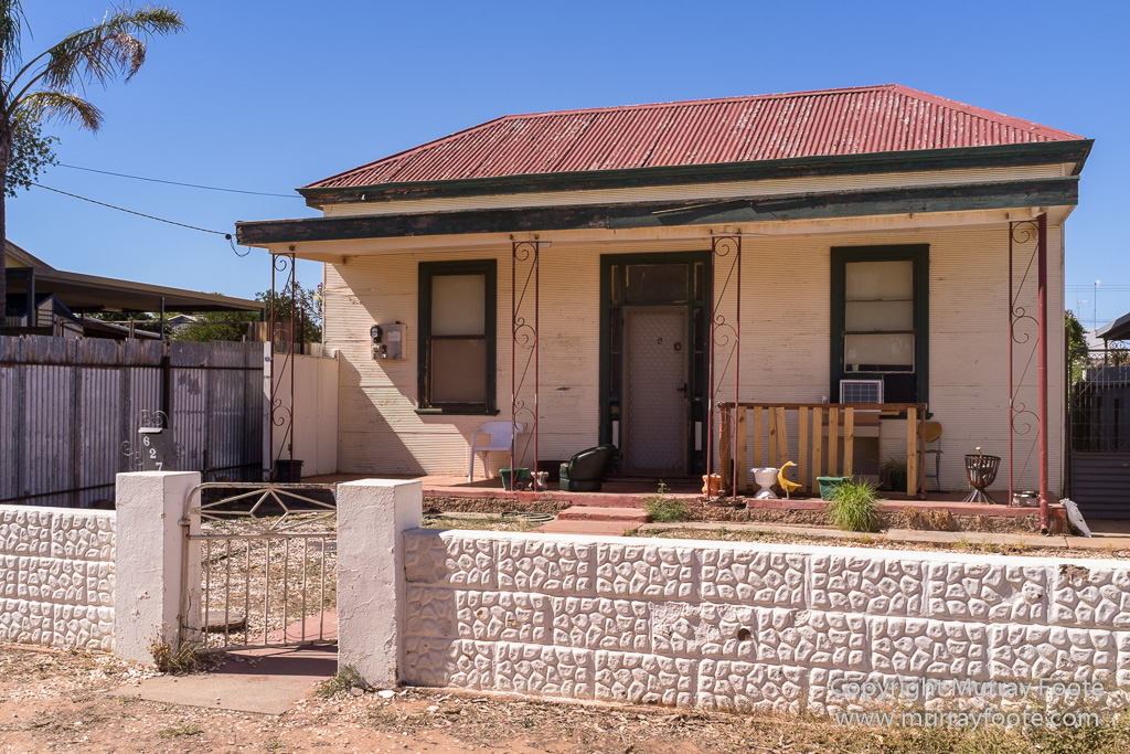 Corrugated Iron Houses Of Broken Hill 171 Murray Foote
