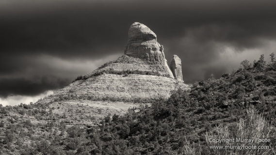 Arizona, Black and White, Infrared, Landscape, Montezuma's Castle, Photography, Sedona, Travel, USA