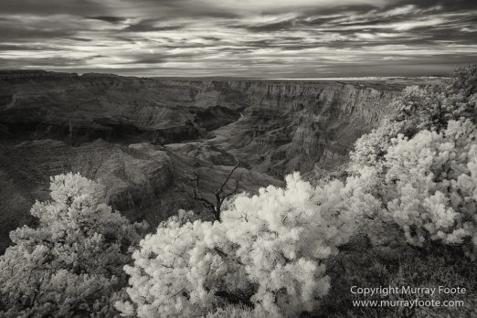 Arizona, Black and White, Grand Canyon, Infrared, Landscape, Monochrome, Night Photography, Photography, Southwest Canyonlands, Travel, USA