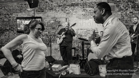 Another Day in Paradise, Black and White, Blues, Dukes of Dixieland, Jeff Chaz, Live Music, Mem Shannon, Monochrome, New Orleans, Photography, Street photography, Travel, Troy Turner, USA