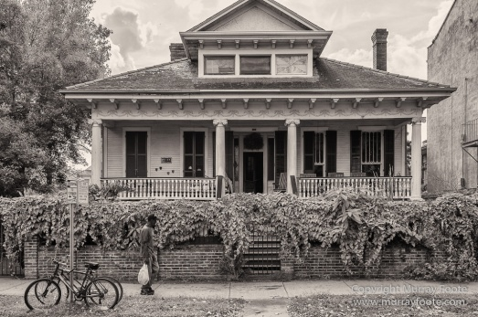 Architecture, Black and White, Monochrome, New Orleans, Photography, Street photography, Travel, USA