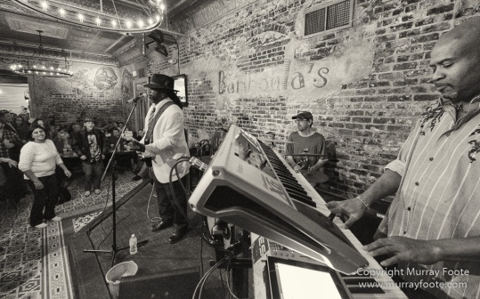 Black and White, Blues, Ed Wills, G String Orchestra, Interstellar Transmissions, Live Music, Monochrome, New Orleans, Pentones, Photography, Smoky Greenwell Band, Street photography, Travel, USA, Willie Lockett and the Blues Crewe