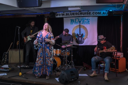 Australia, Blues, BluesCruise, Live Music, Michelle van der Meer, P. J. O'Brien, Photography, Sydney, Sydney Harbour, Tony Cini, Travel