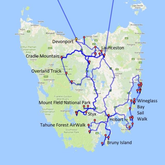 Australia, Binna Burra, Bruny Island, Bushwalking, Hobart, Lamington National Park, Landscape, Mount Field National Park, Overland Track, Photography, Queensland, Styx, Tasmania, Travel, Wineglass Bay Sail Walk
