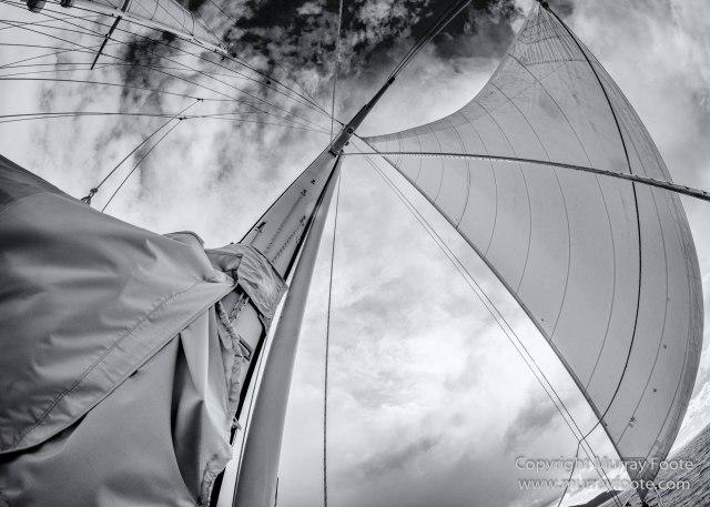 Australia, Black and White, Fortescue Bay, Ketch, Landscape, Maria Island, Monochrome, Nature, Photography, Sailing, Tasmania, Travel, Wilderness, Wineglass Bay Sail Walk, Yachts