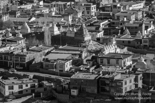 Architecture, Black and White, India, Ladakh, Landscape, Leh, Leh Palace, Monochrome, Photography, Street photography, Tibet