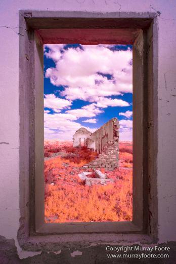 Architecture, Australia, Flinders Ranges, Infrared, Landscape, Merna Mora Station, Nature, Nilpena Station, Parachilna, Photography, Ruins, South Australia, Travel