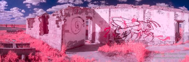 Architecture, Australia, Flinders Ranges, Infrared, Landscape, Merna Mora Station, Nature, Nilpena Station, Parachilna, Photography, Ruins, South Australia, Travel