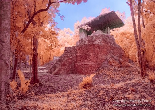 Archaeology, Architecture, Guatemala, Infrared, Landscape, Maya, Nature, Photography, Topoxte, Travel, Yaxha