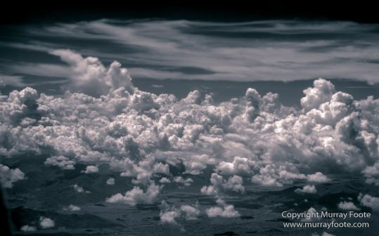 Aerial Photography, Black and White, Clouds, Infrared, Landscape, Nature, Photography, Sabah, Wilderness